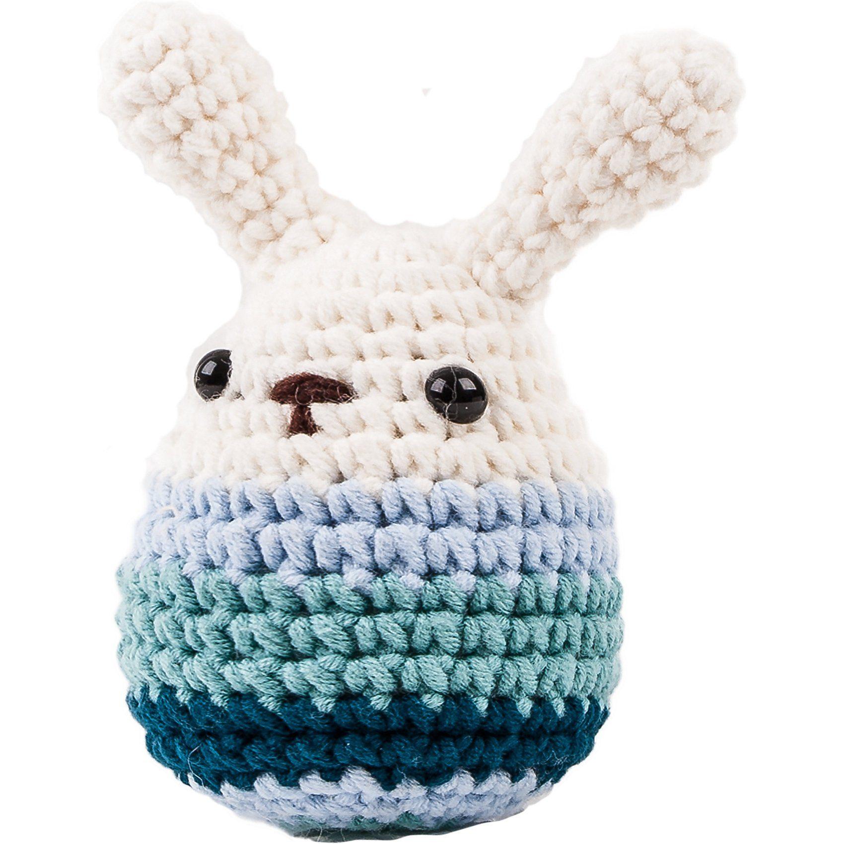 MaxiMo Häkel-Ei, klein, mit Ohren