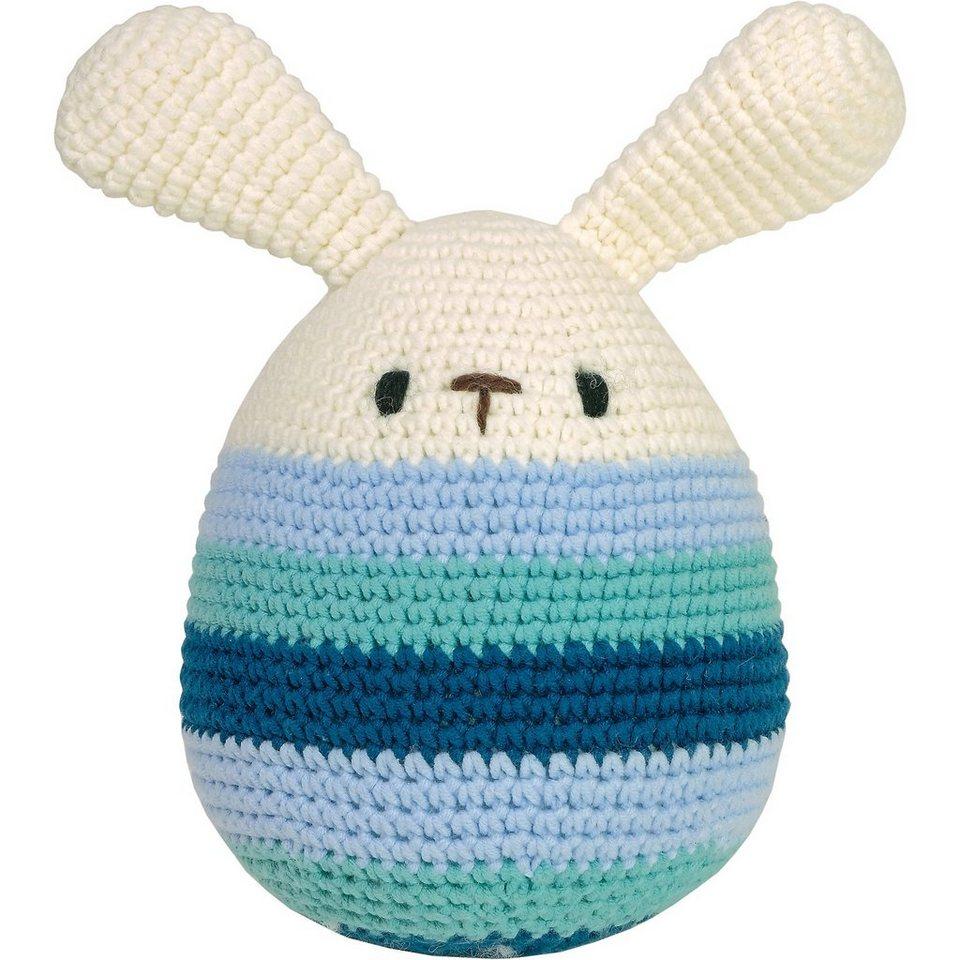 MAXIMO Häkel-Ei, groß, mit Ohren, 17cm kaufen