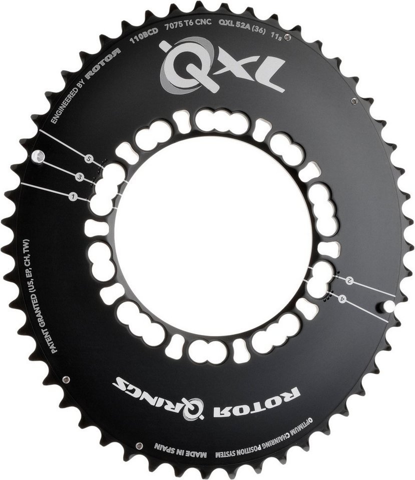 Rotor Kettenblatt 187 Qxl Ring Road Aero Kettenblatt 110mm 5
