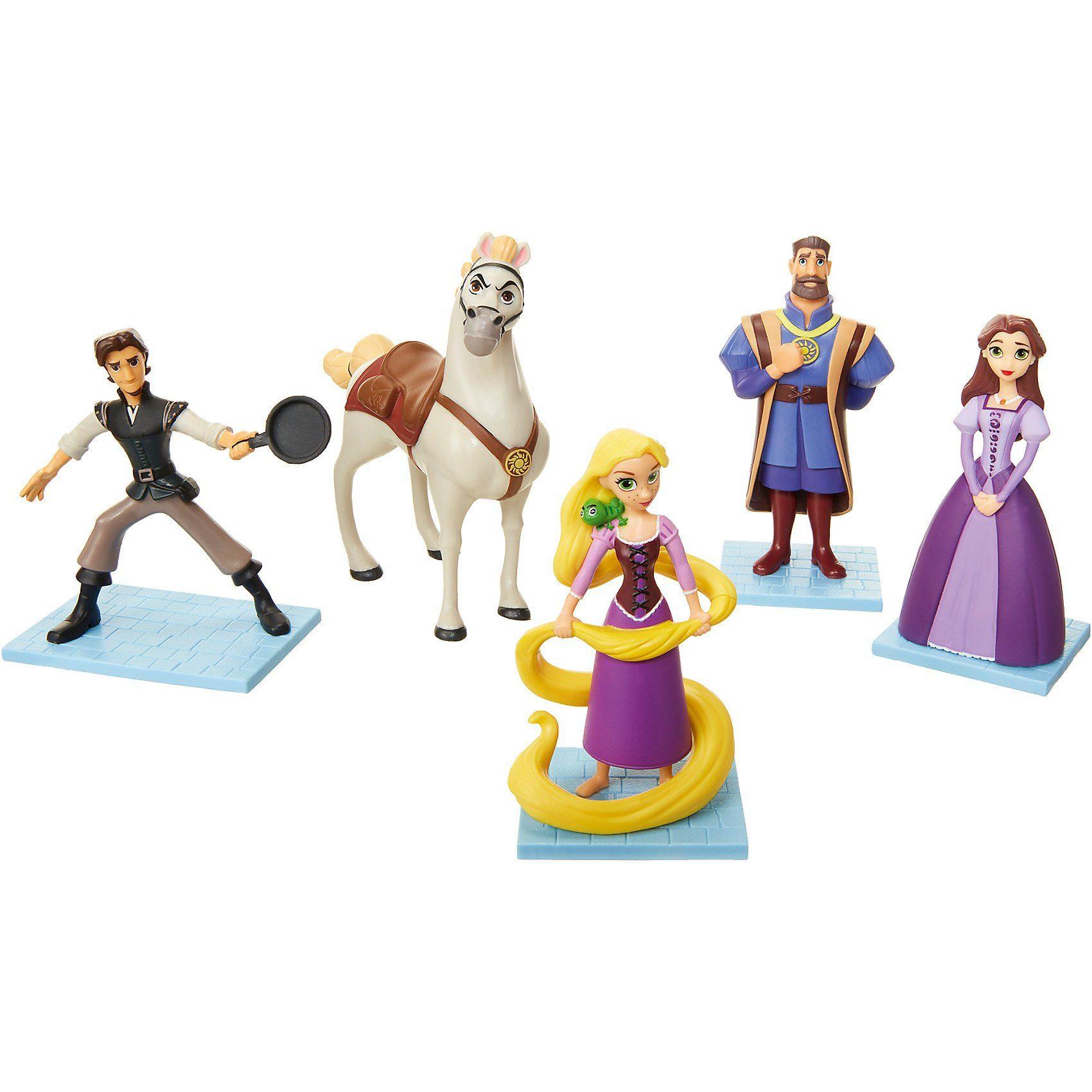Jakks Pacific Rapunzel – Neu verföhnt Figuren Set