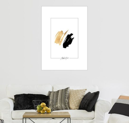 Posterlounge Wandbild - Stephanie Wünsche »Abstrakt No.09«