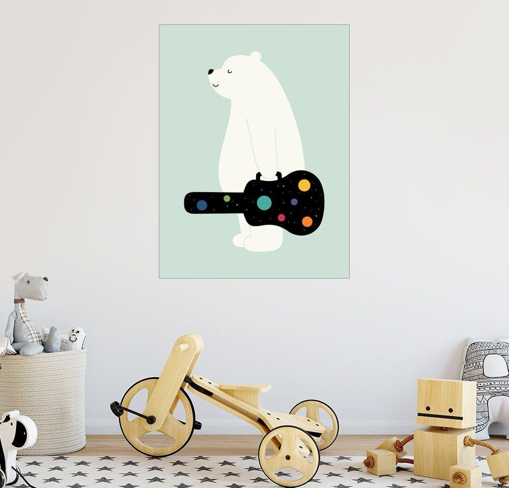 Posterlounge Wandbild - Andy Westface »verfolge deine Träume« | Dekoration > Bilder und Rahmen > Bilder | Holz | Posterlounge
