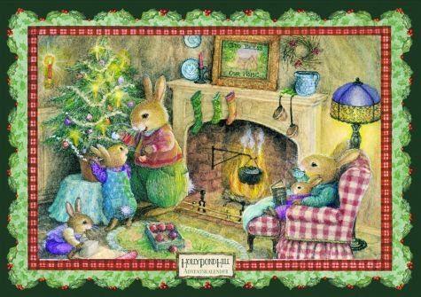 Kalender »Weihnachten vorm Kamin«