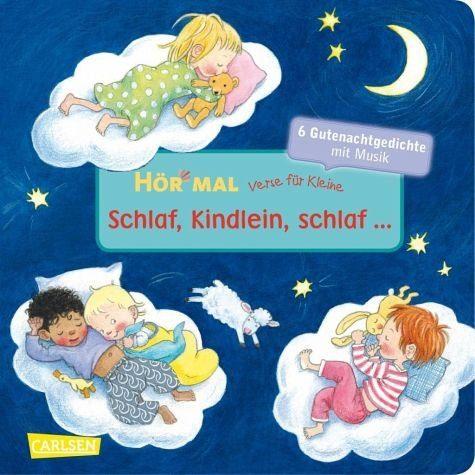 Buch mit Papp-Einband »Verse für Kleine: Schlaf, Kindlein, schlaf ......«