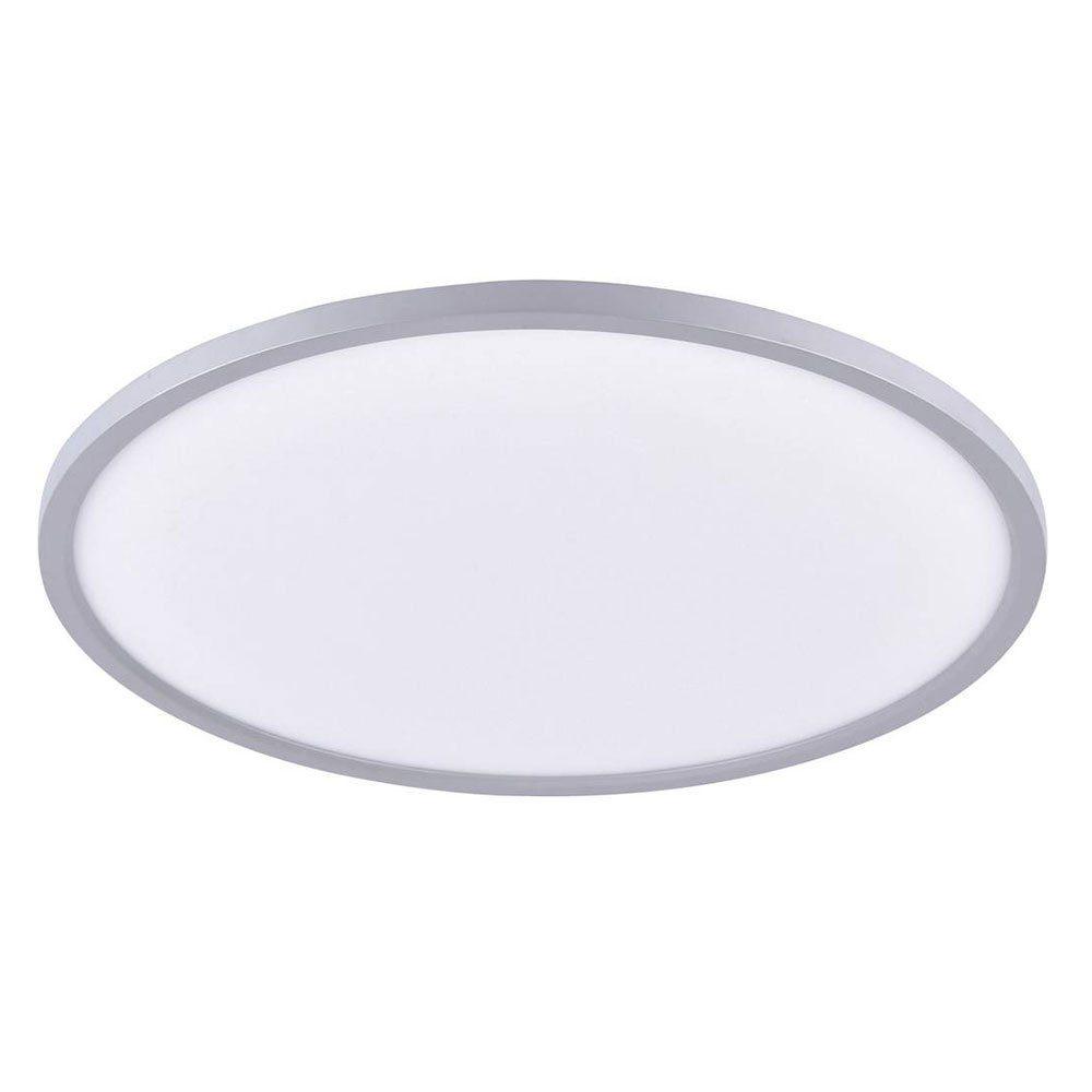 Licht-Trend Deckenleuchte »Q-Flat Ø60 cm LED 3000K / Silber«