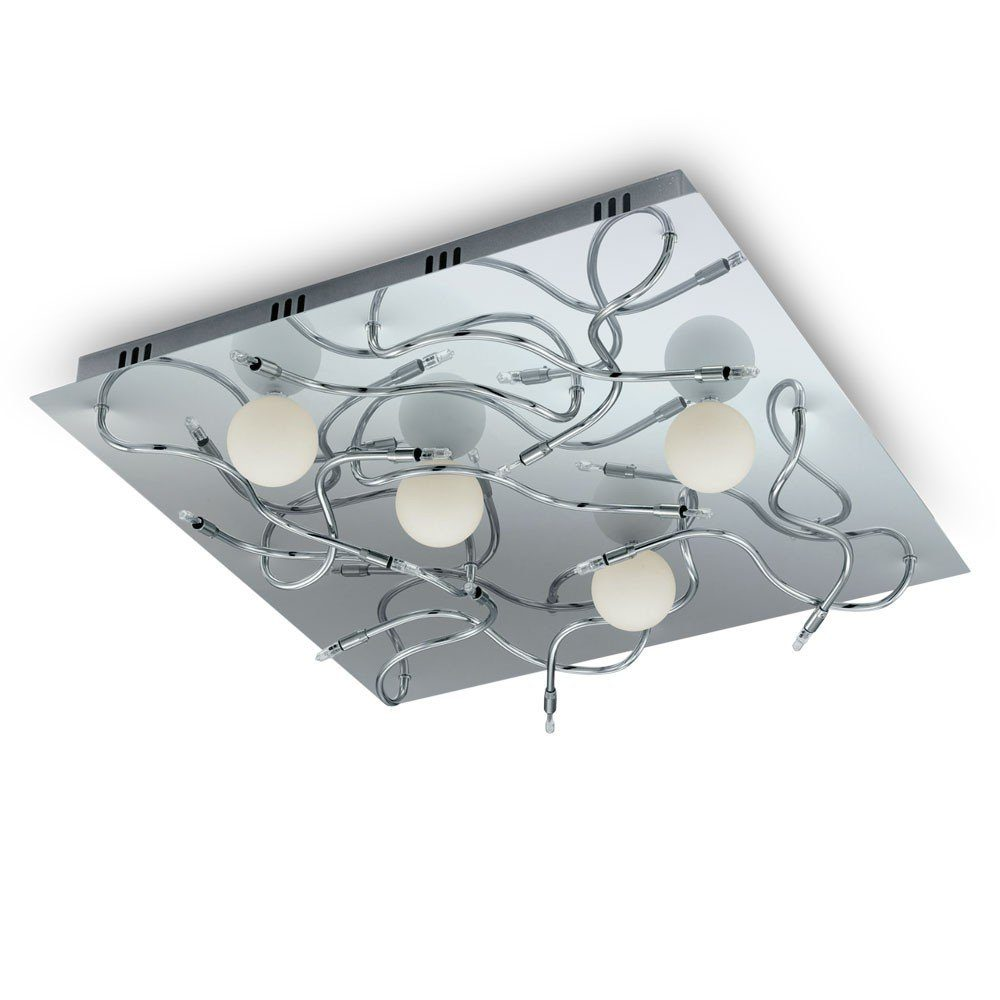 Licht-Trend LED Deckenleuchte »LED 16-flammig 49 x 49cm Chro«