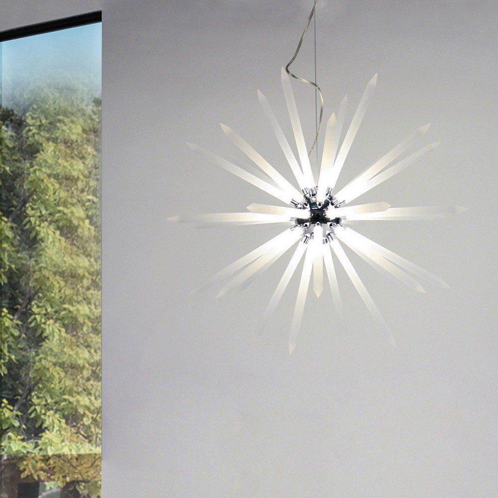 s.LUCE Pendelleuchte »Peak LED mit Acryl-Stacheln Ø 75cm«