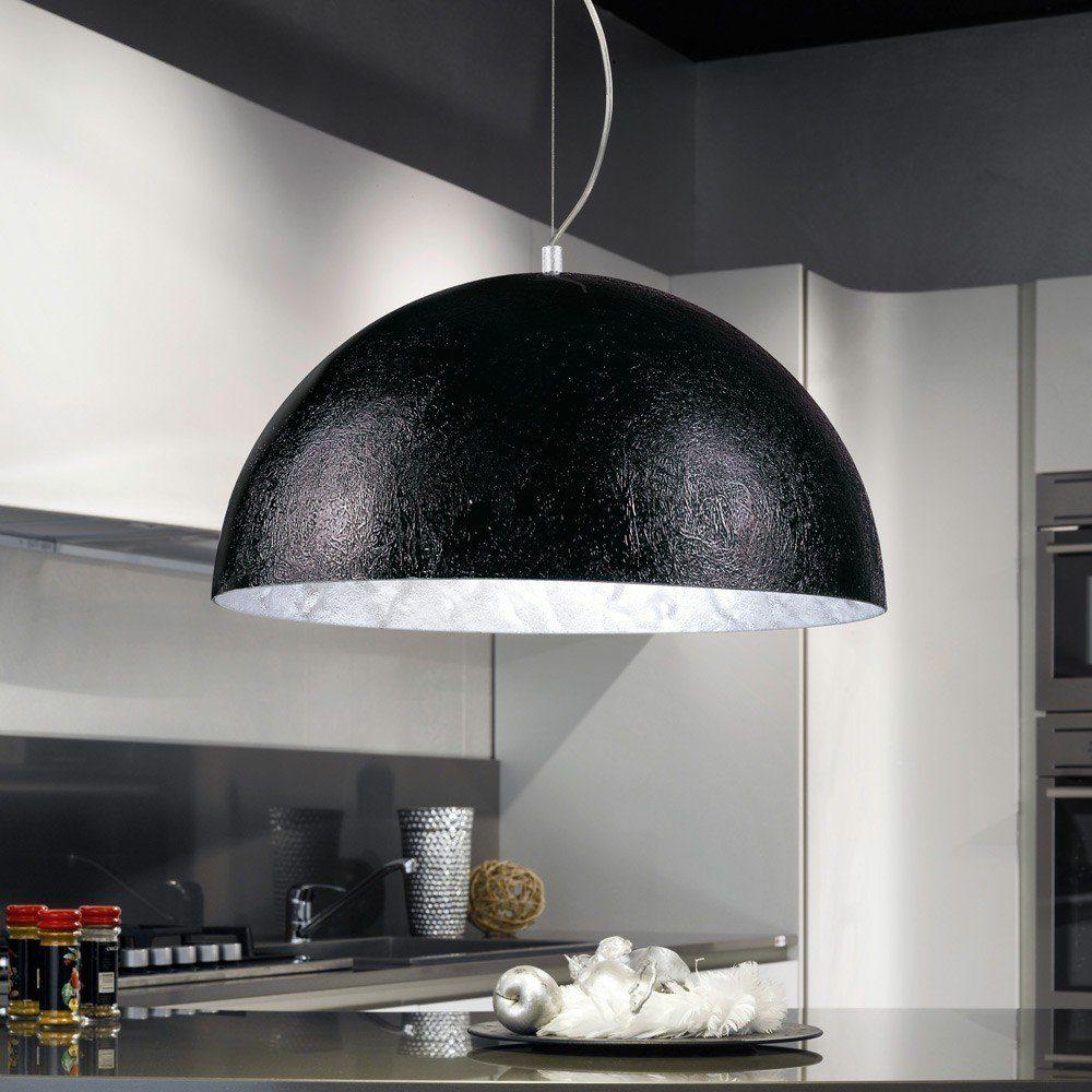 s.LUCE Pendelleuchte »Blister 70cm Schwarz, Silberfarben«