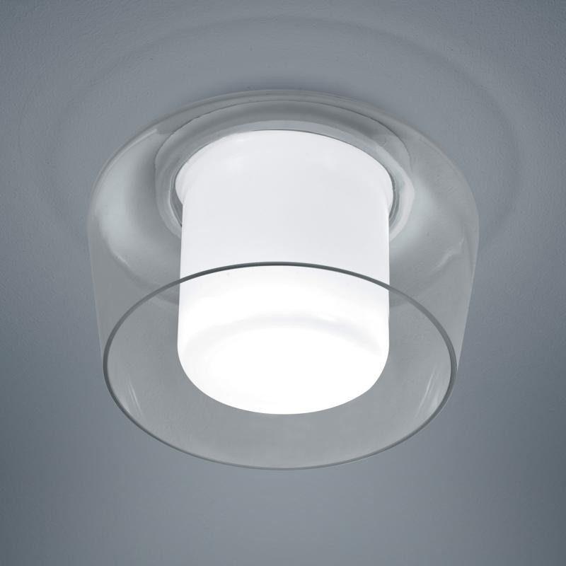 Helestra Deckenleuchte »Canio Glas Deckenleuchte Ø 26cm Klar«