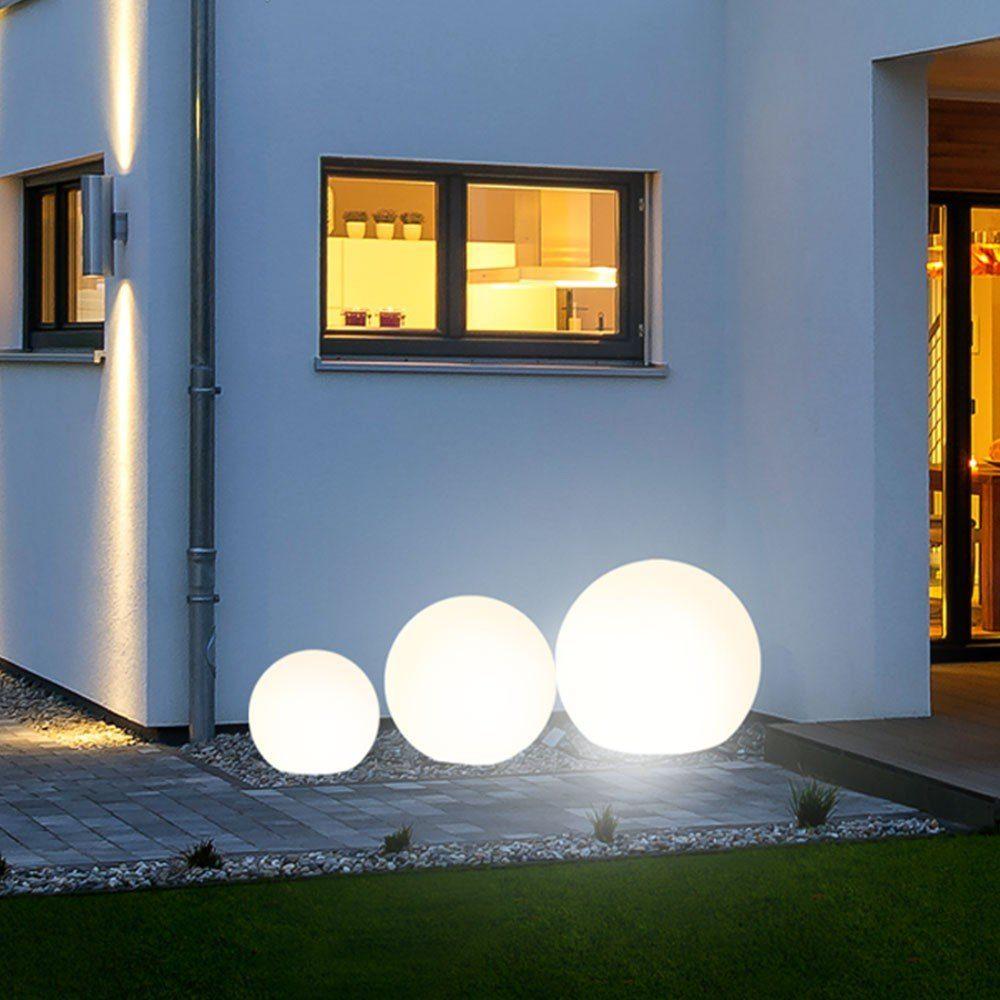 s.LUCE Gartenkugeln »Globe+ 3er-Set LED Ø 30 + 40 + 50cm«