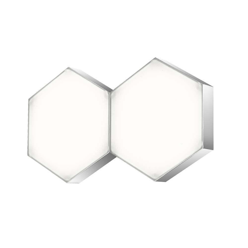 Nova Luce LED Wandleuchte »Pettine LED Design Wandleuchte / 10W, 3000K«