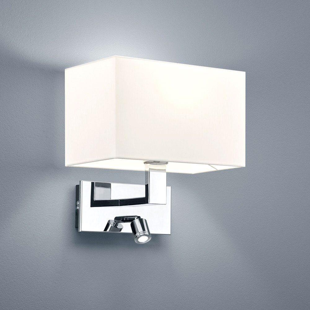 Helestra Leseleuchte »Wand- & Leseleuchte Rena rechteckig LED + E27«