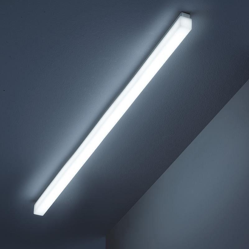 Helestra LED Linienleuchte »Case LED Linienleuchte 120cm 1500lm warm Alu-matt«
