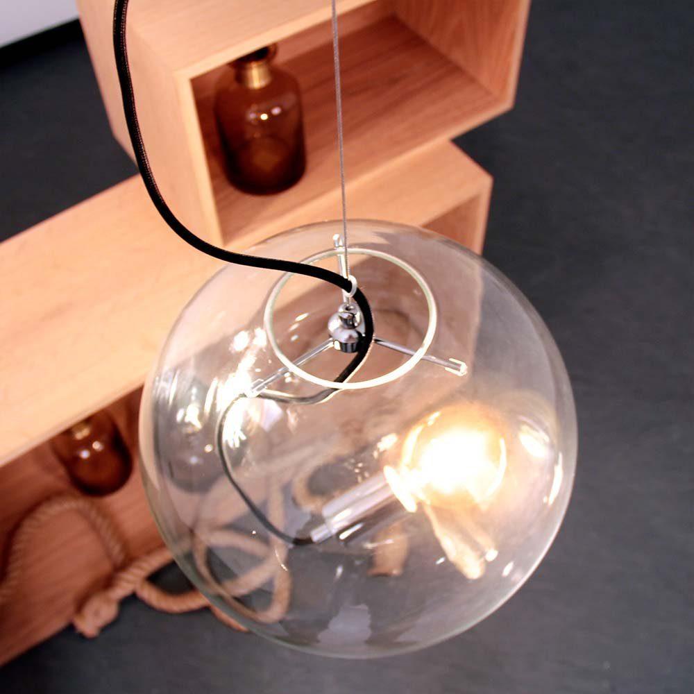s.LUCE Pendelleuchte »Sphere 40 Glaskugel«