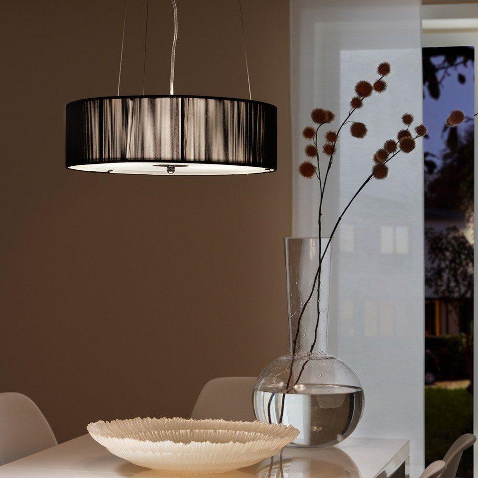 s luce pendelleuchte twine m stoff h henverstellbar schwarz online kaufen otto. Black Bedroom Furniture Sets. Home Design Ideas