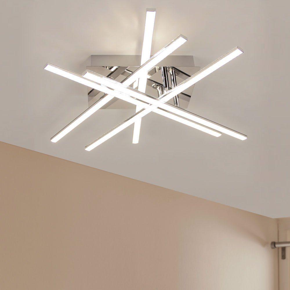 Licht-Trend LED-Deckenleuchte »Cortes LED 50x50cm mit Kristallen«