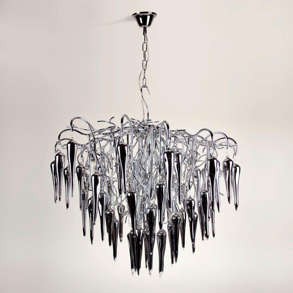s.LUCE Pendelleuchte »Thorn XXL Ø 90 cm mit Glaskristallen«