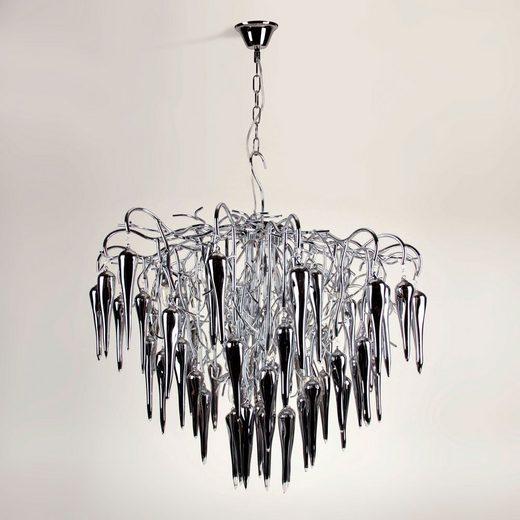 s.LUCE Pendelleuchte »Thorn XXL Ø 90cm mit Glaskristallen«