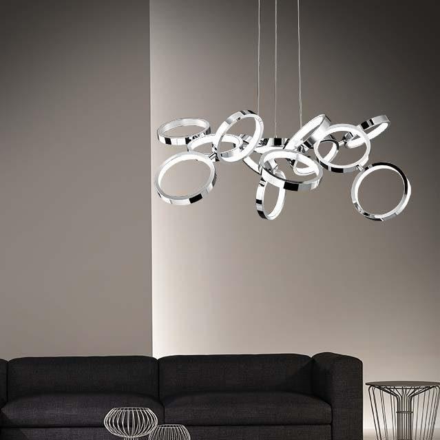 Nova Luce LED Pendelleuchte »Creazione LED Design Hängelampe / 42W, 3000K«
