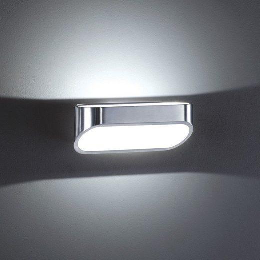 Helestra LED Wandleuchte »Miko LED-Wandleuchte 310lm Alu-matt«