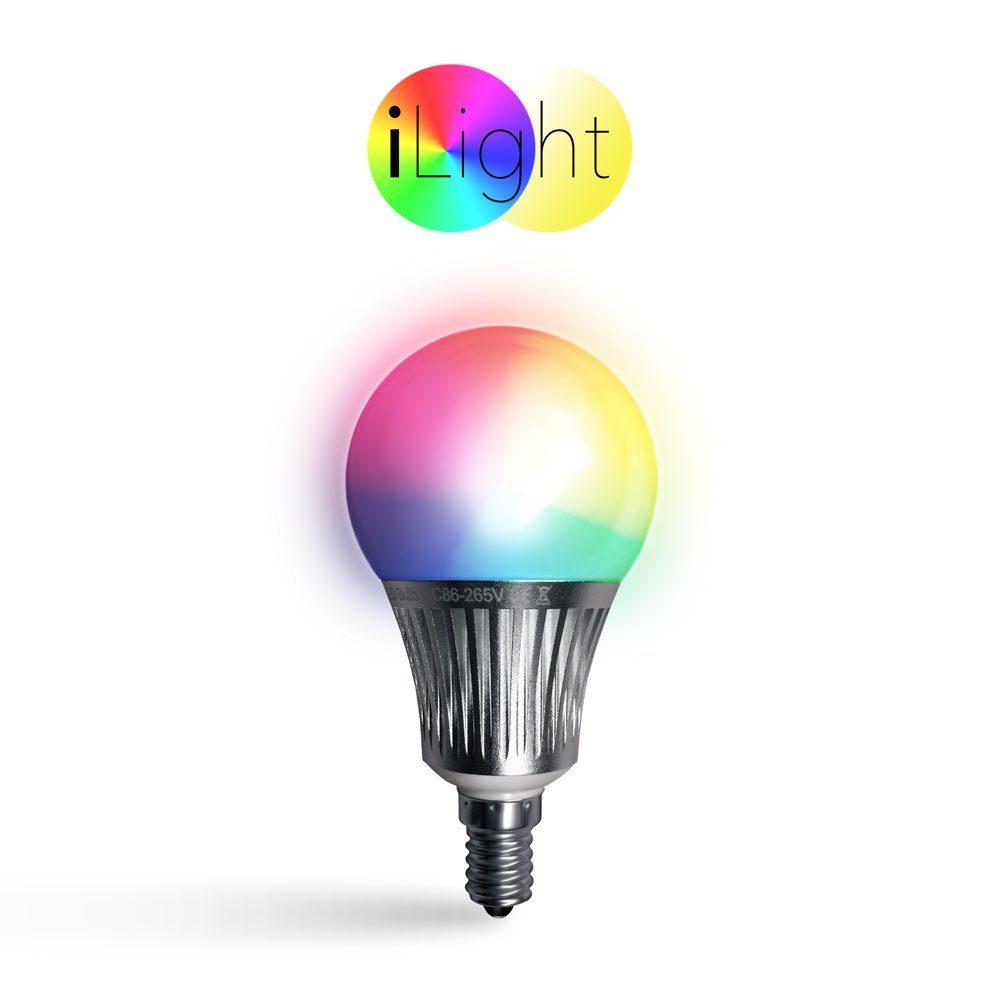 s.LUCE Leuchtmittel »iLight E14 RGBW-LED 5 W«