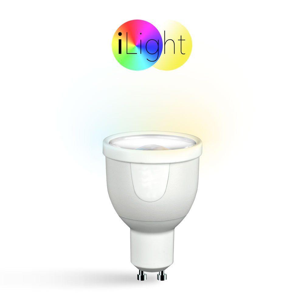 s.LUCE Leuchtmittel »iLight GU10 LED Spot CCT 5W«