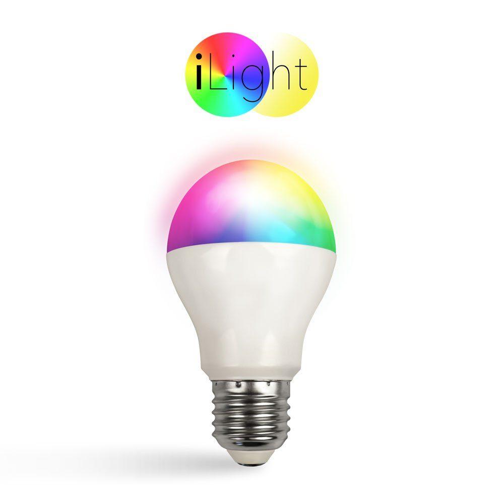 s.LUCE Leuchtmittel »iLight E27 LED 6 W RGB+CCT«