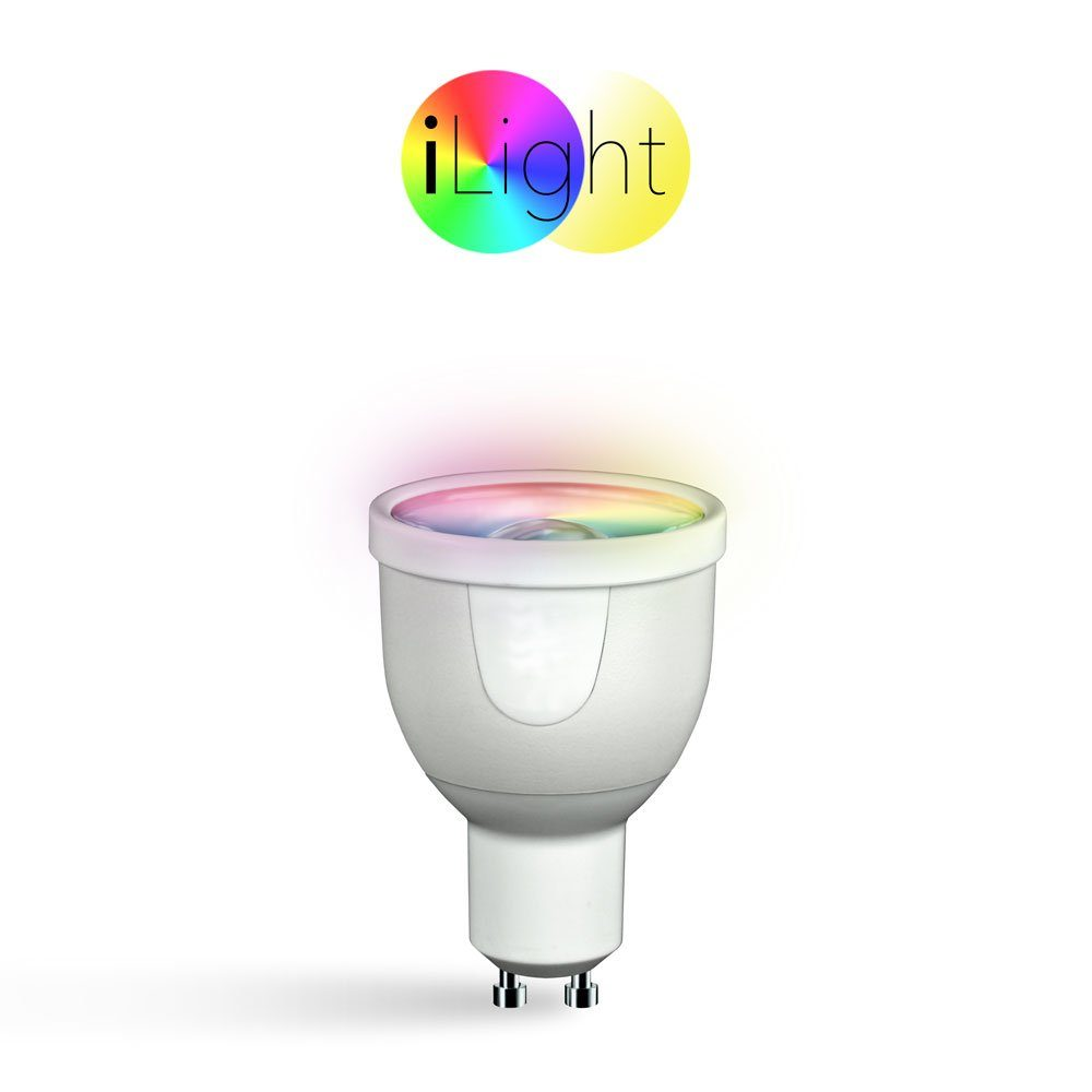 s.LUCE Leuchtmittel »iLight GU10 LED Spot RGBW 5W«