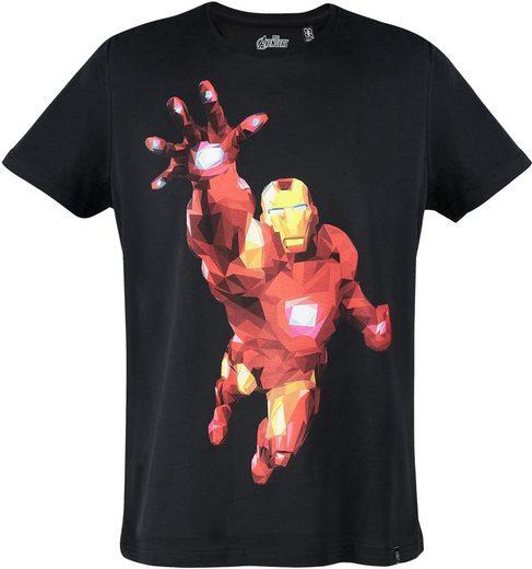 Musterbrand T-Shirt »Iron Man - Polygon Edition« The Avengers Kollektion