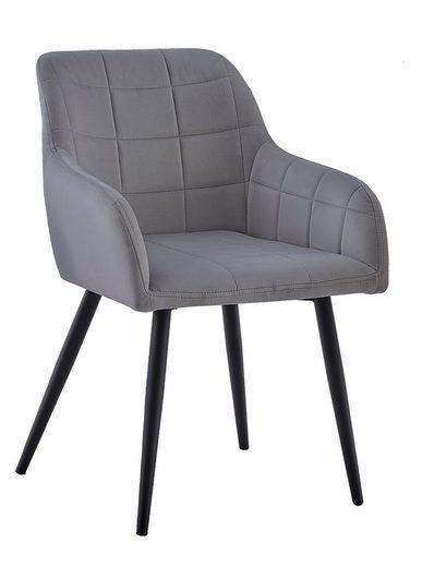 Junado® Schalenstuhl »Lars«, trendiger skandinavischer Stil mit ergonomischer Sitzschale