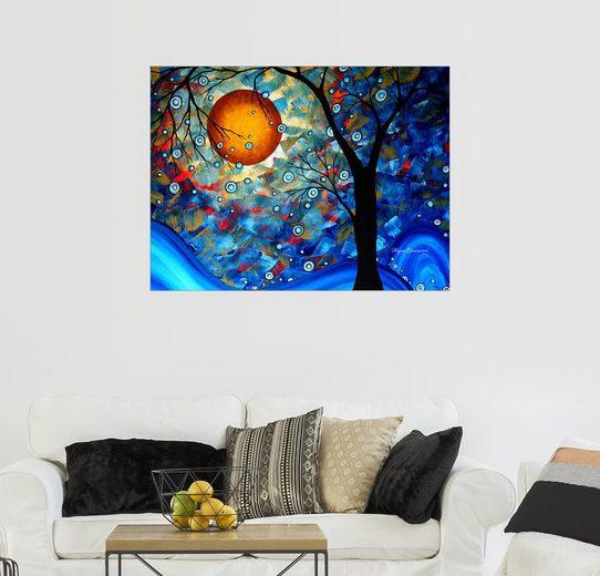 Posterlounge Wandbild - Megan Duncanson »Blue Essence DUNCANSON«