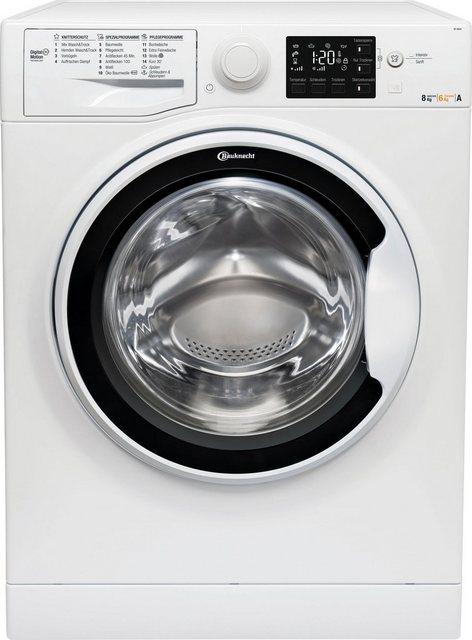 BAUKNECHT Waschtrockner WT 86G4 DE, 8 kg/6 kg, 1400 U/Min