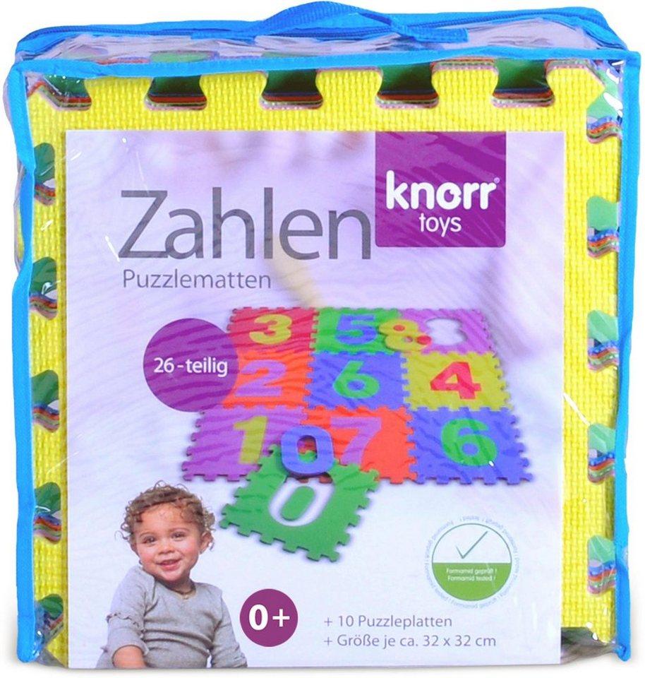 Knorr toys Puzzlematte, 10-teilig,  Zahlen  kaufen