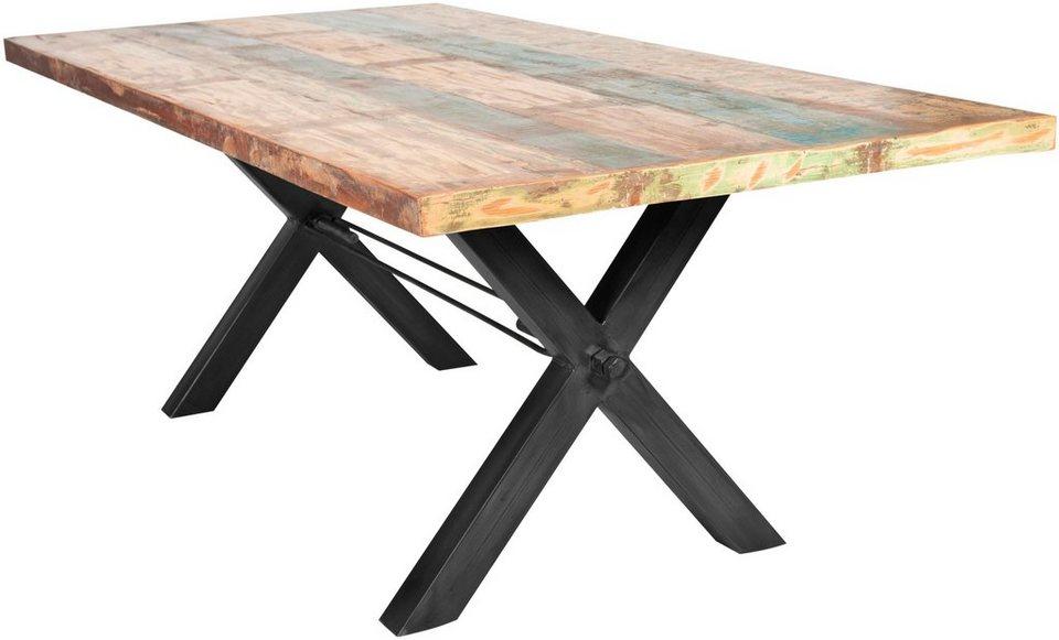 sit esstisch tops aus recyceltem altholz kaufen otto. Black Bedroom Furniture Sets. Home Design Ideas