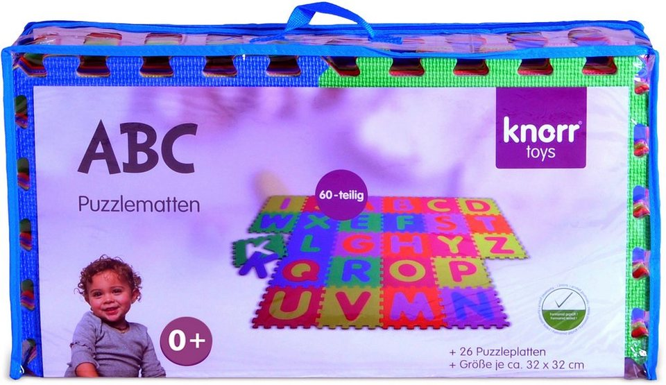 Knorr toys Puzzlematte, 26-teilig,  Alphabet