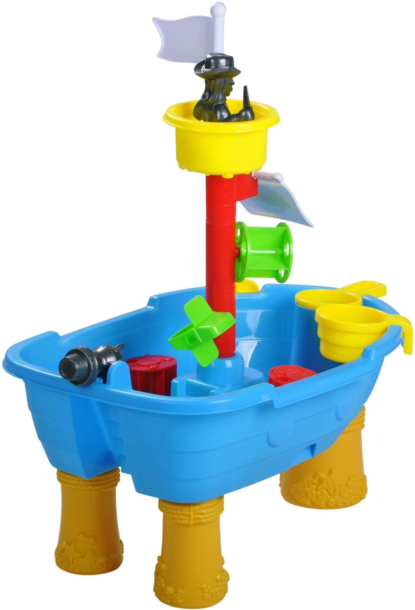 knorr toys Sandspielzeug, »Sandtisch Piratenschiff«