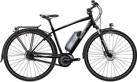 BREEZER Bikes E-Bike »GREENWAY IG+ Di2 2017«, 8 Gang Shimano Nexus 8-fach Schaltwerk, Nabenschaltung, Mittelmotor 250 W, (mit Akku-Ladegerät)