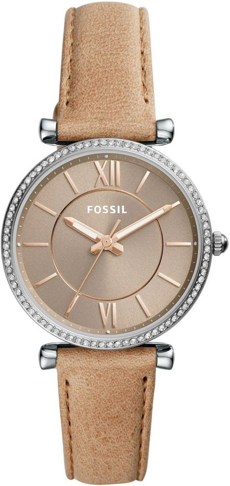 Damen Fossil Quarzuhr »CARLIE, ES4343« braun | 04053858954571