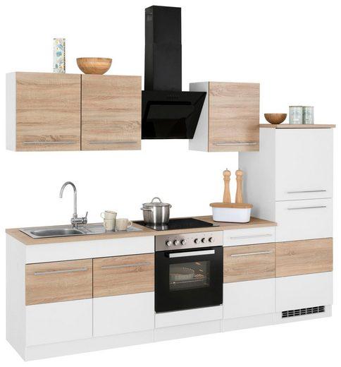HELD MÖBEL Küchenzeile »Trient«, mit E-Geräten, Breite 270 cm
