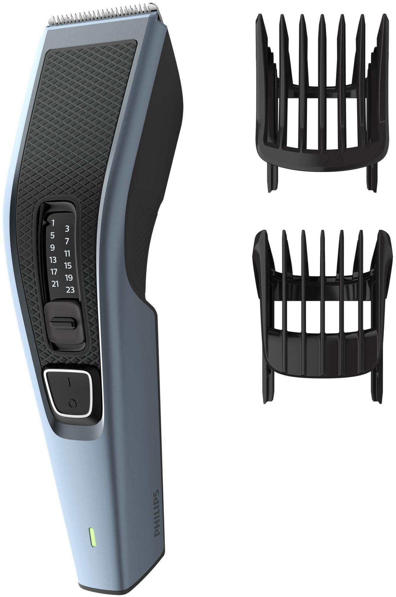 Philips Haar- und Bartschneider HC3530/15, Series 3000, Trimmaufsatz, Bartkamm, 13 Längeneinstellungen