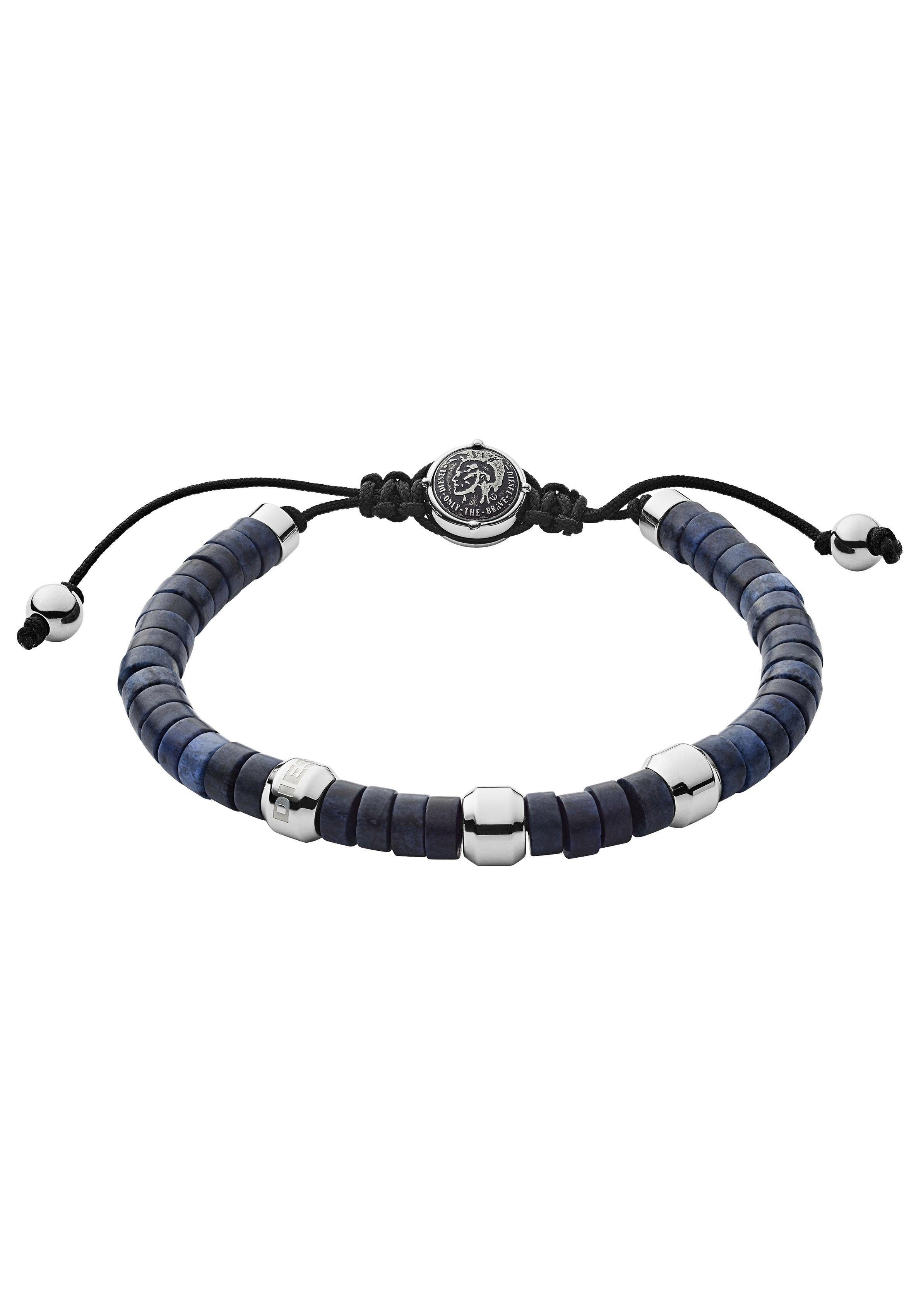 Diesel Armband »BEADS, DX1122040« mit Sodalith