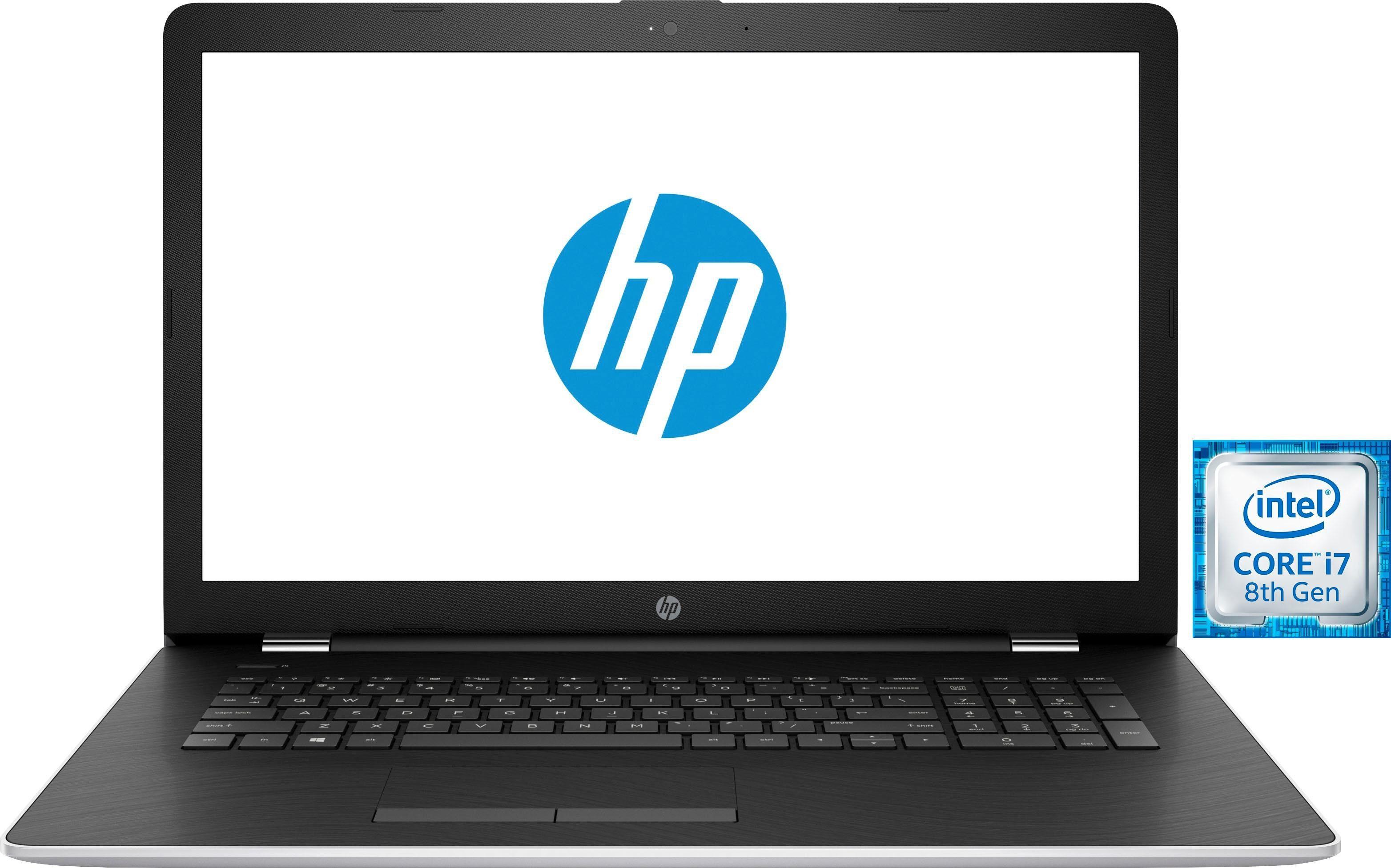HP 17-bs110ng Notebook (43,9 cm/17,3 Zoll, Intel Core i7, Radeon™, 1000 GB HDD, 128 GB SSD)