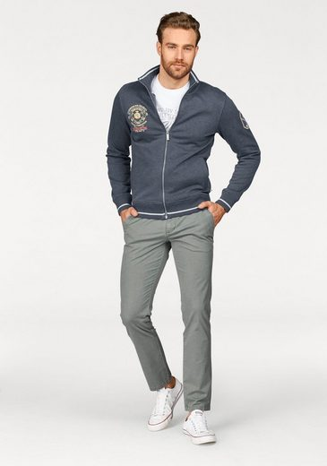 Team Tom Polo Mit Tailor Sweatjacke Frontstickerei vqqr8Ex