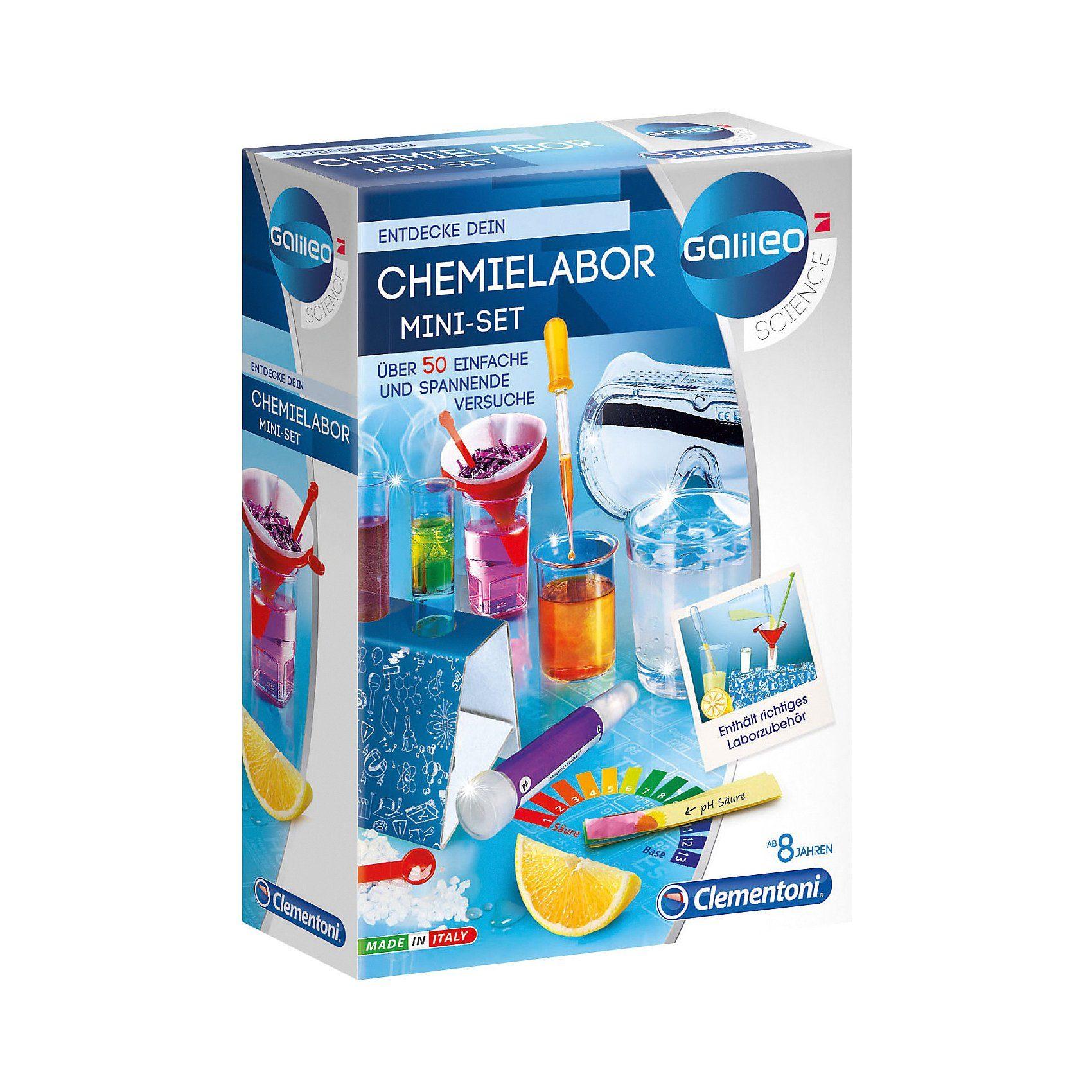 Clementoni® Galileo - Mini Chemielabor