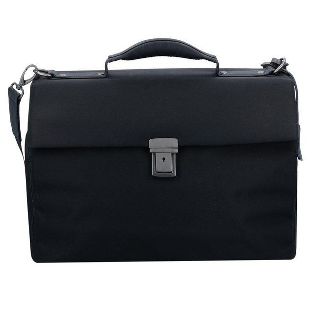 Damen Leonhard Heyden Soho Aktentasche 40 cm Laptopfach schwarz | 04059385773180