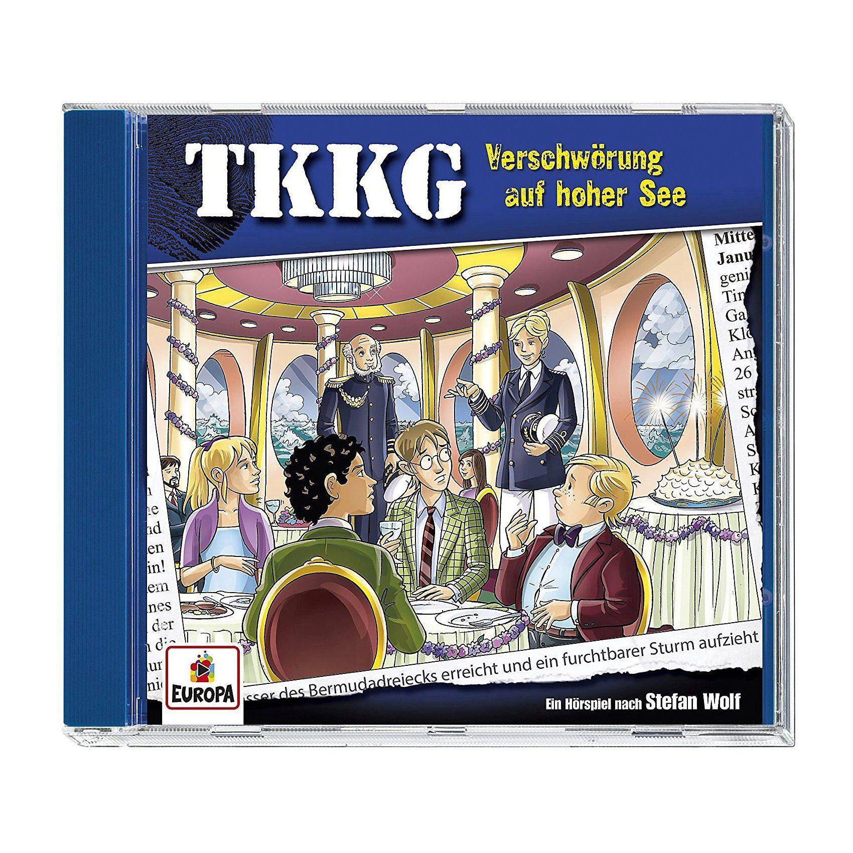 Sony CD TKKG 204 - Verschwörung auf hoher See