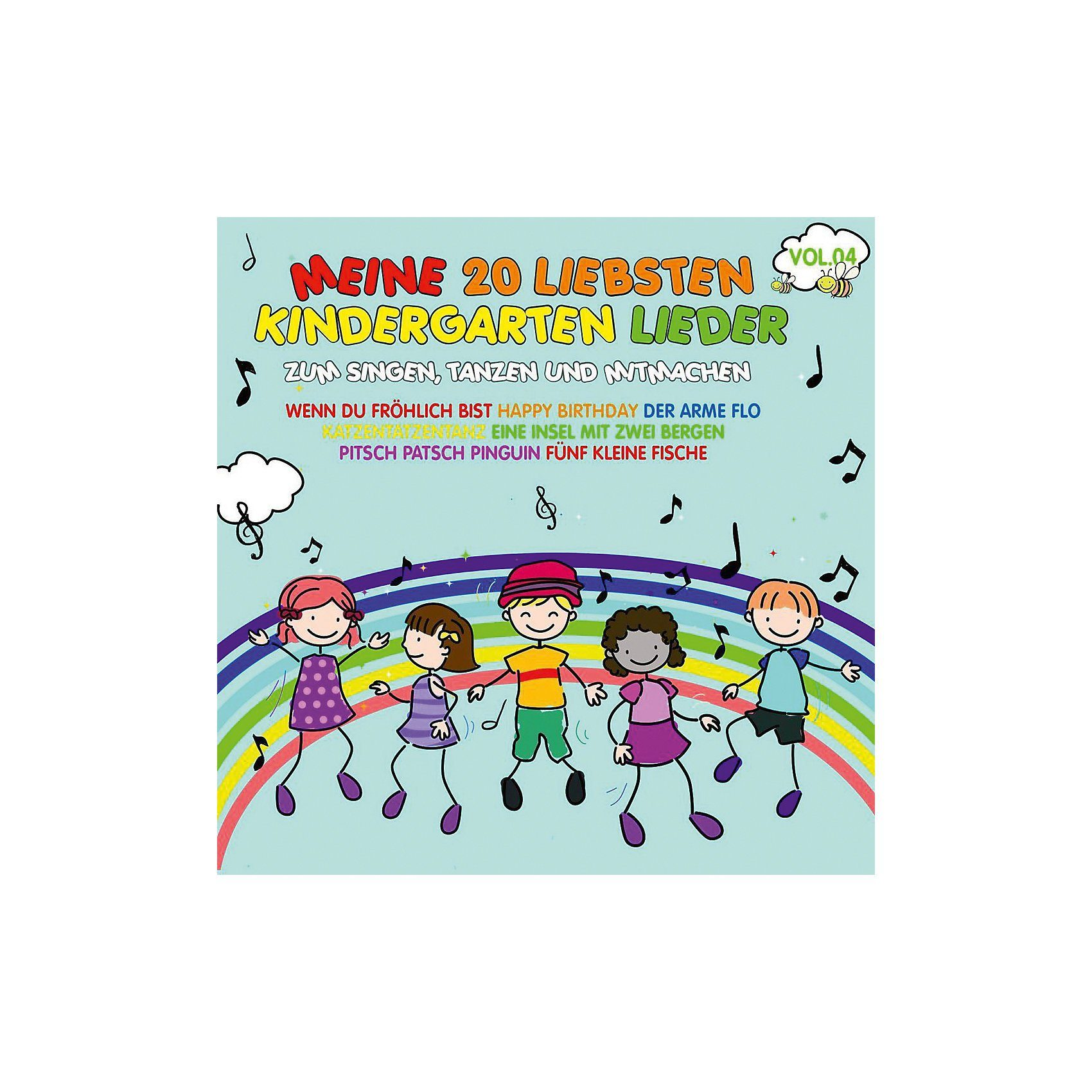 CD Meine 20 Liebsten Kindergarten Lieder Vol.4