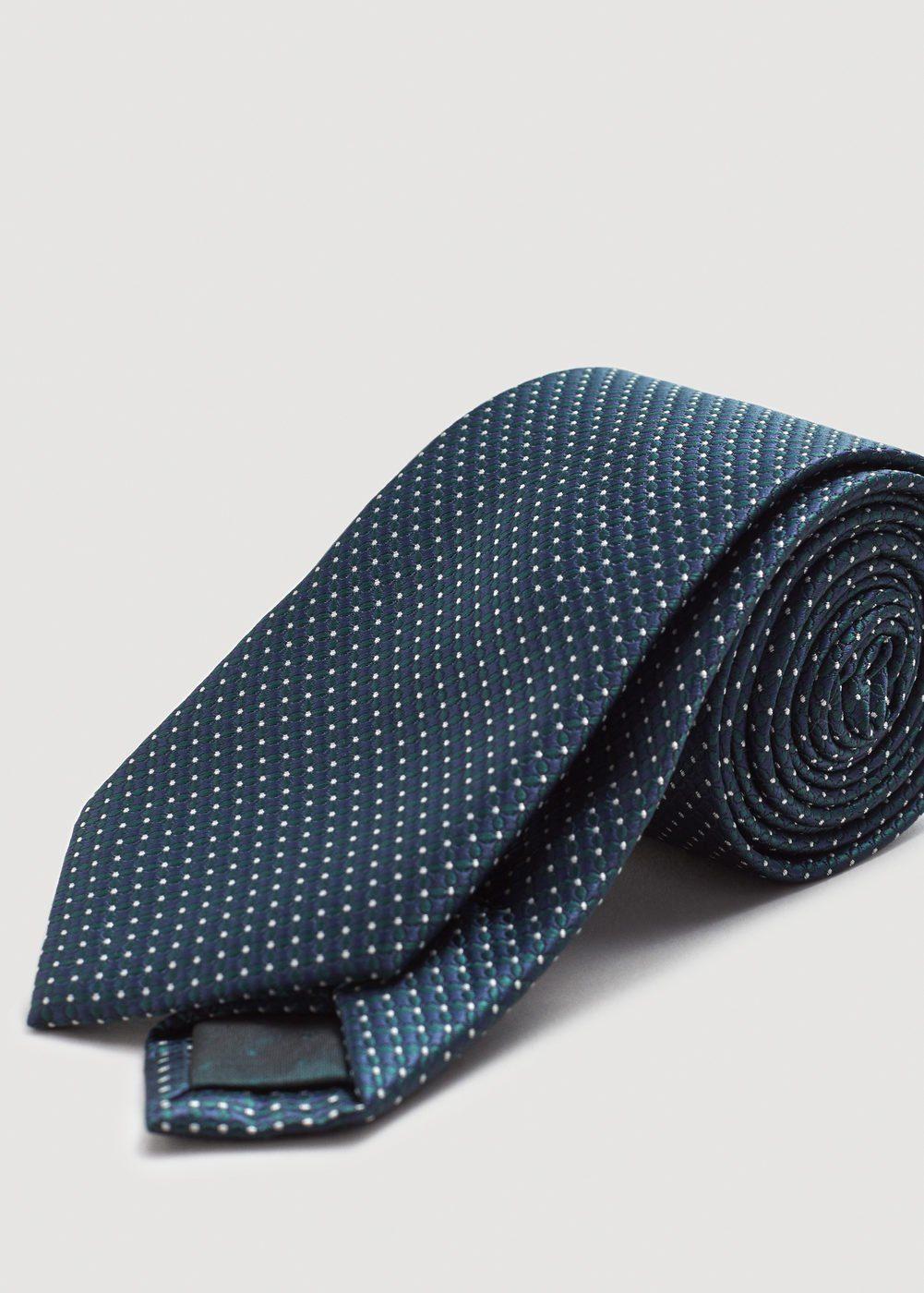 MANGO MAN Strukturierte Krawatte
