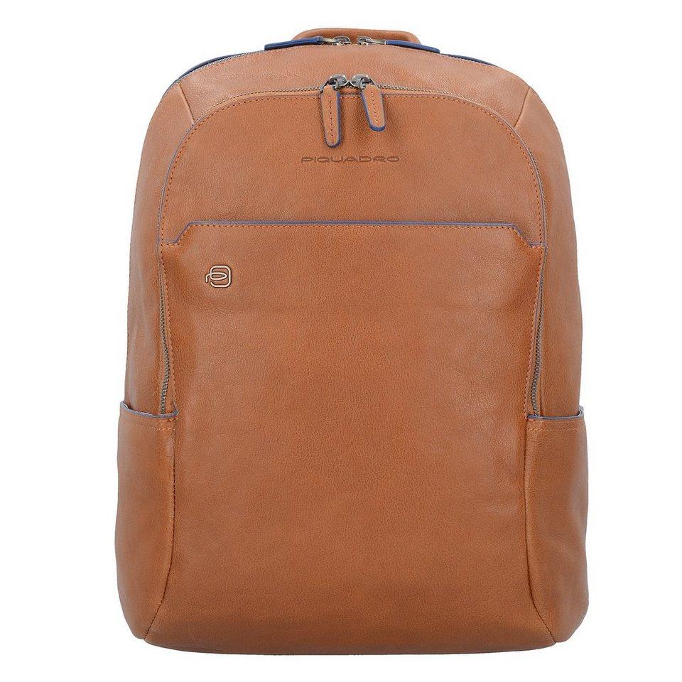 82183b6a4622f Piquadro Blue Square Business Rucksack Leder 39 cm Laptopfach online ...
