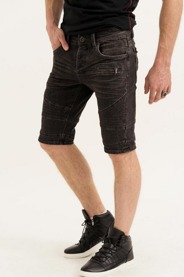 - Herren trueprodigy Jeansshorts VEX #704 schwarz   04057124032659